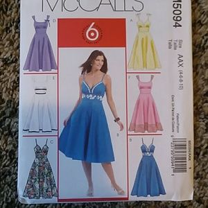 McCall's Summer Dress Sewing Pattern